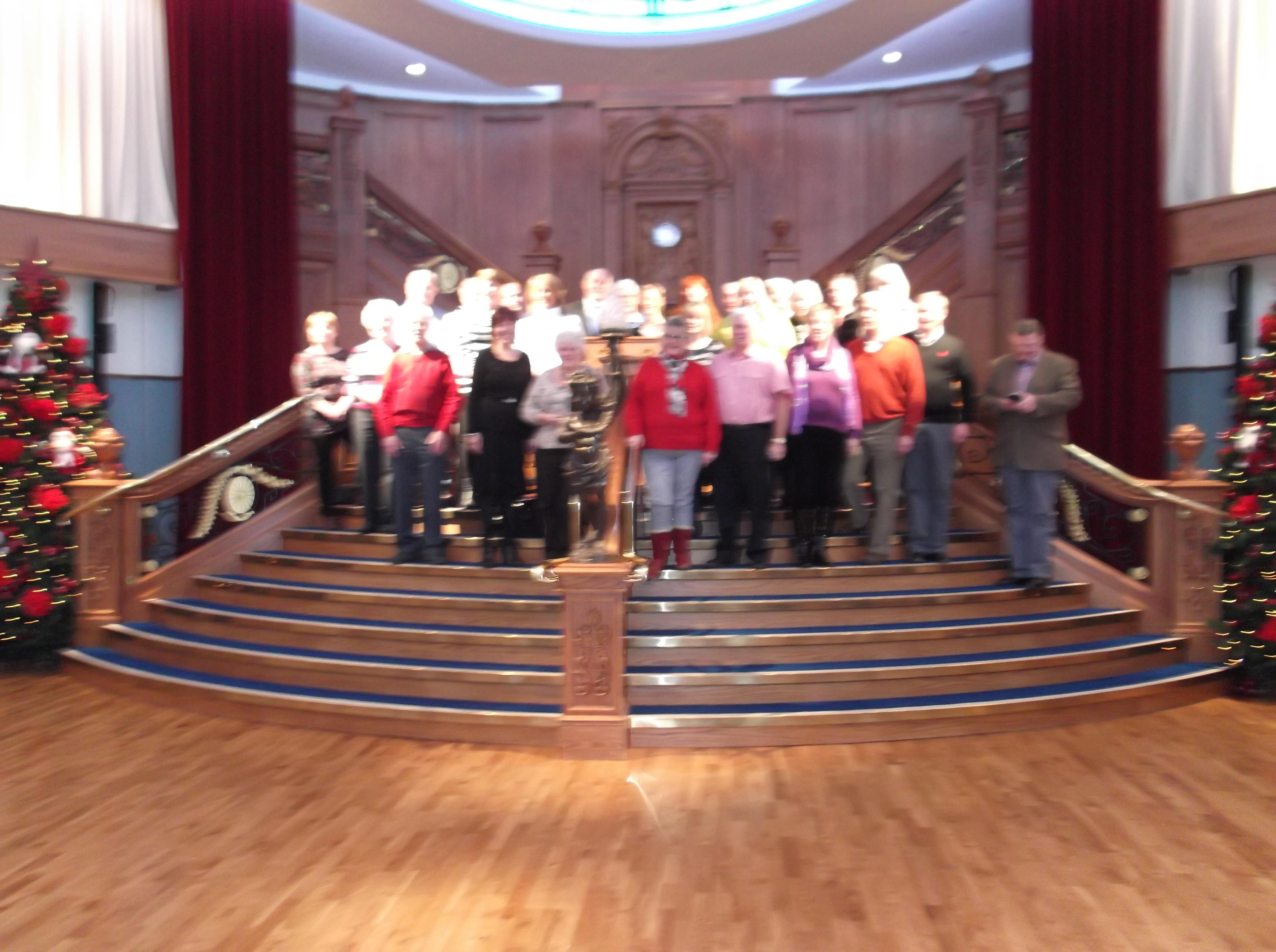 Titanic 100 year anniversary dinner sc